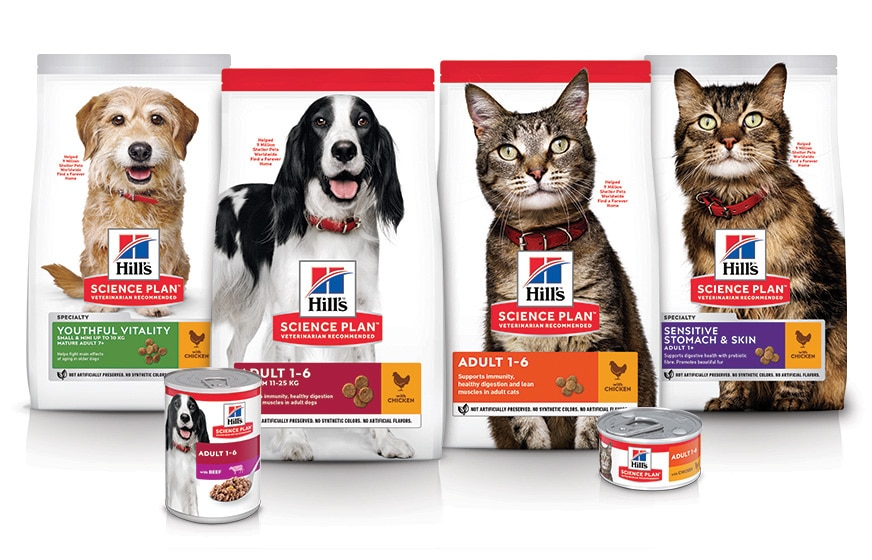 Science plan cats & dogs products